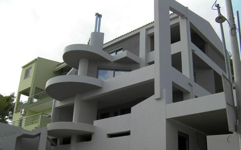 εξωτερική θερμομόνωση κτιρίου
