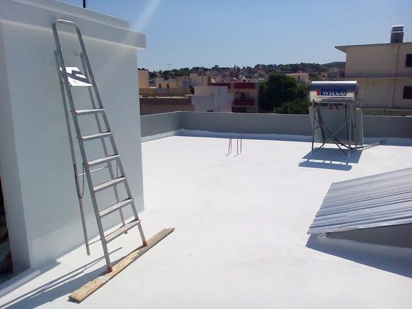 μόνωση ταράτσας light roof