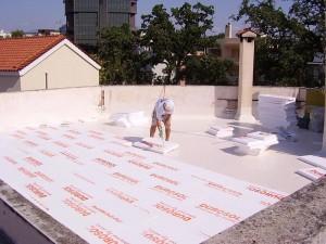 μονωση ταρατσας με durosol Light roof