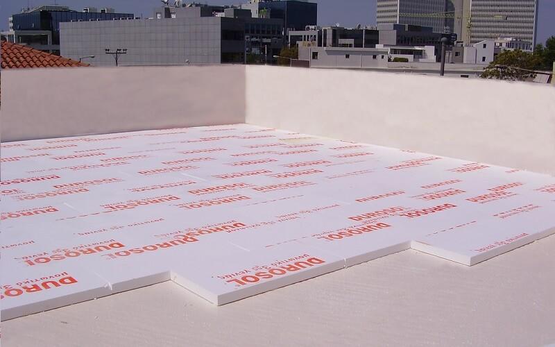μονωση ταράτσας με durosol light roof