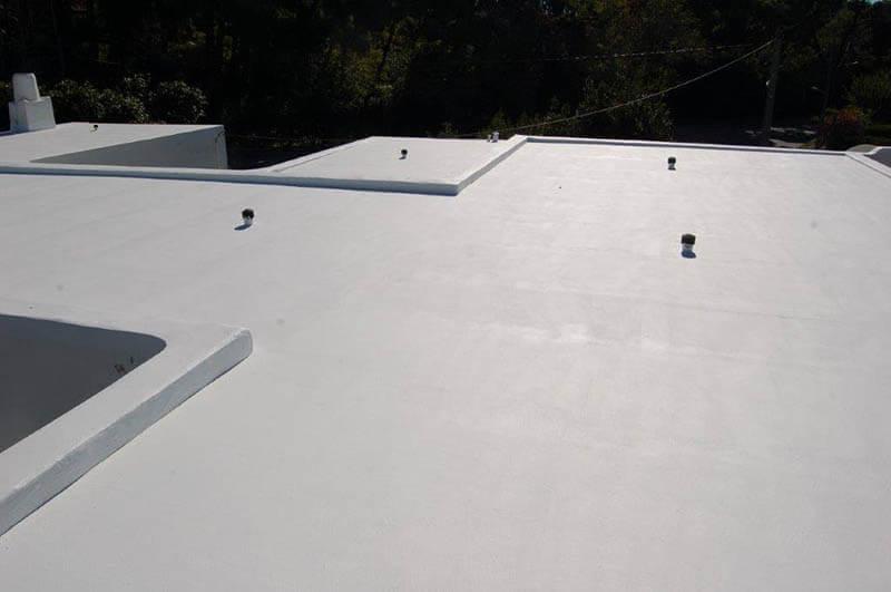 ταράτσα που εγκαταστάθηκε μόνωση ταράτσας light roof
