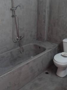 πατητή τσιμεντοκονία μπάνιου