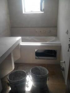 αρχή εφαρμογής πατητης σε μπάνιο