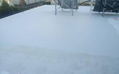ταράτσα στο Ίλιον με τελειωμένο και ολοκληρωμένο σύστημα μόνωσης Durosol Light Roof