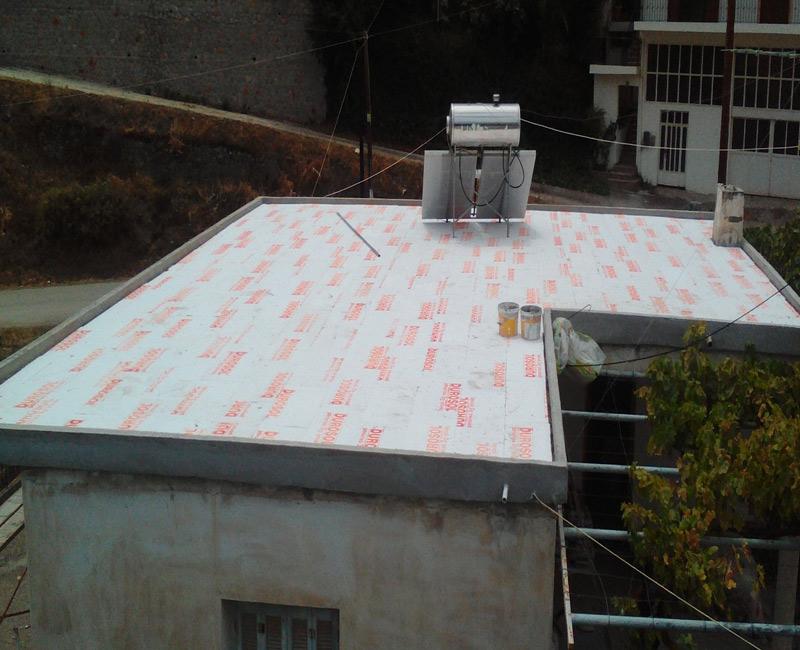 durosol light roof απο τους συνεργάτες της Fragoulakis σε κατοικία στην Επίδαυρο