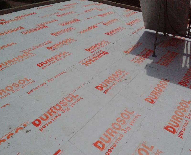 durosol light roof σε κατοικία στην επίδαυρο