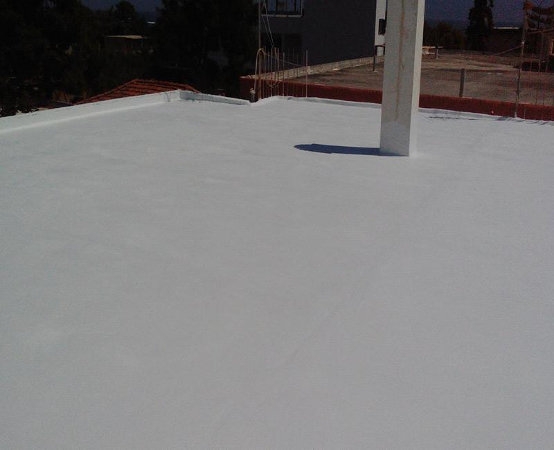 ολοκληρωμένο σύστημα στεγανοποιήσης ταράτσας με fgl watersport σε κατοικία στην Επίδαυρο
