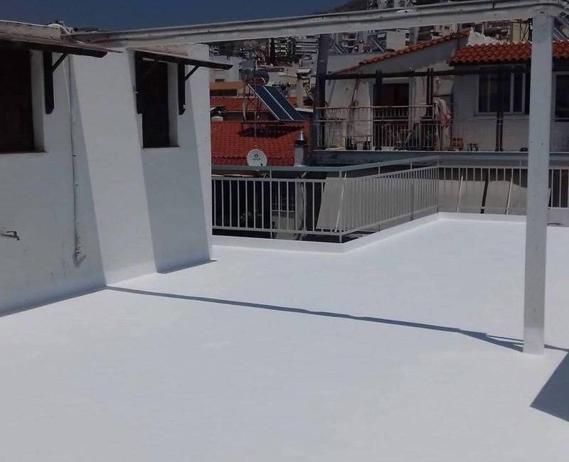 Σύστημα durosol light roof για μόνωση ταράτσας στη περιοχή της Ηλιούπολης