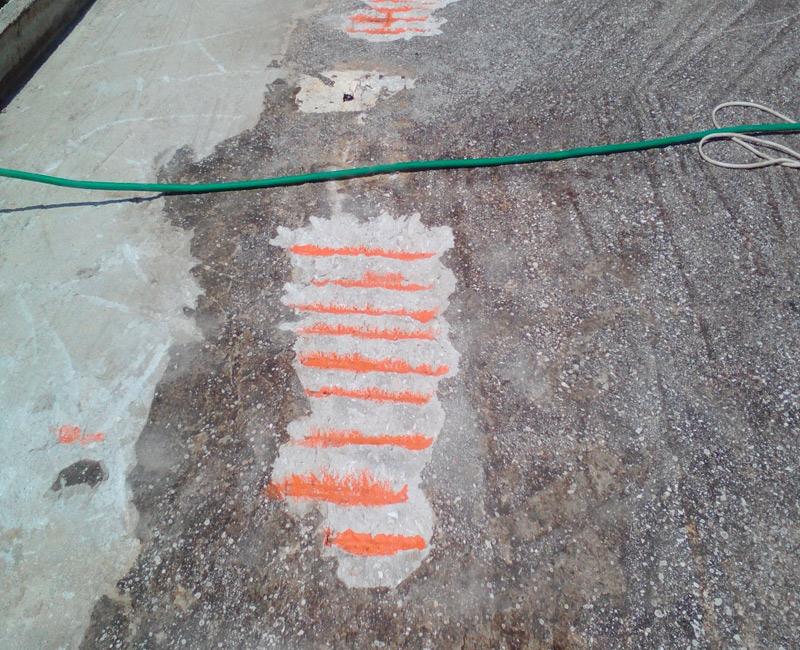 διαδικασία στεγανοποίησης ταράτσας FGL watersport ταράτσα στην Επίδαυρο