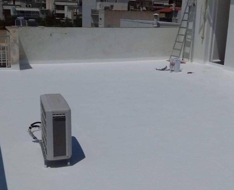 Ταράτσα στην Ηλιούπολη με ολοκληρωμένο σύστημα Durosol Light Roof