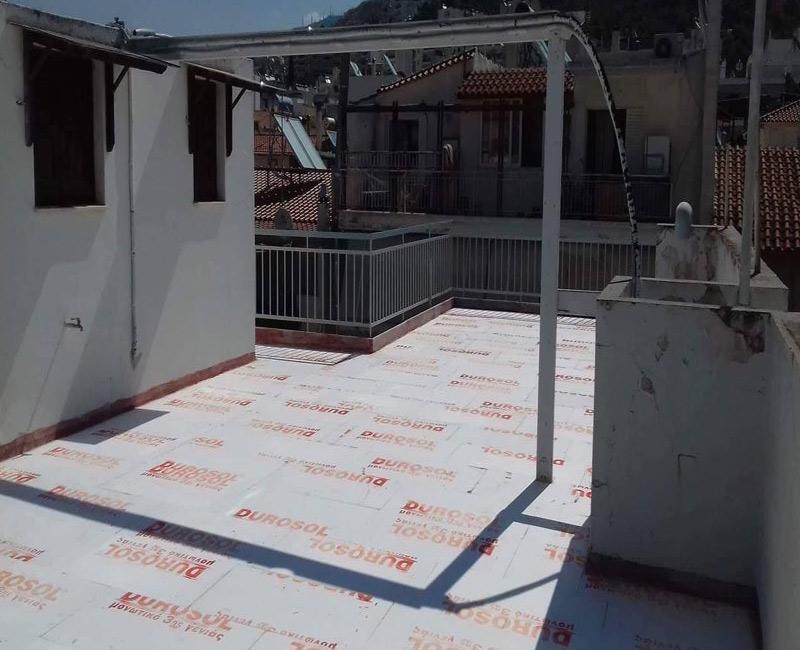 σύστημα μόνωσης ταράτσας durosol light roof στην περιοχή της Ηλιούπολης
