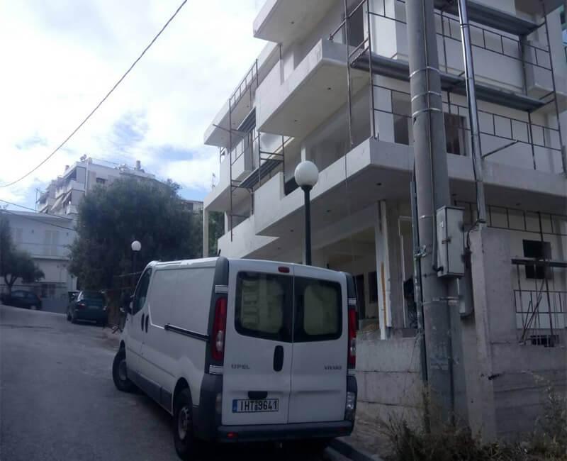 νεόδμητη κατοικία στο νέο Ηράκλειο