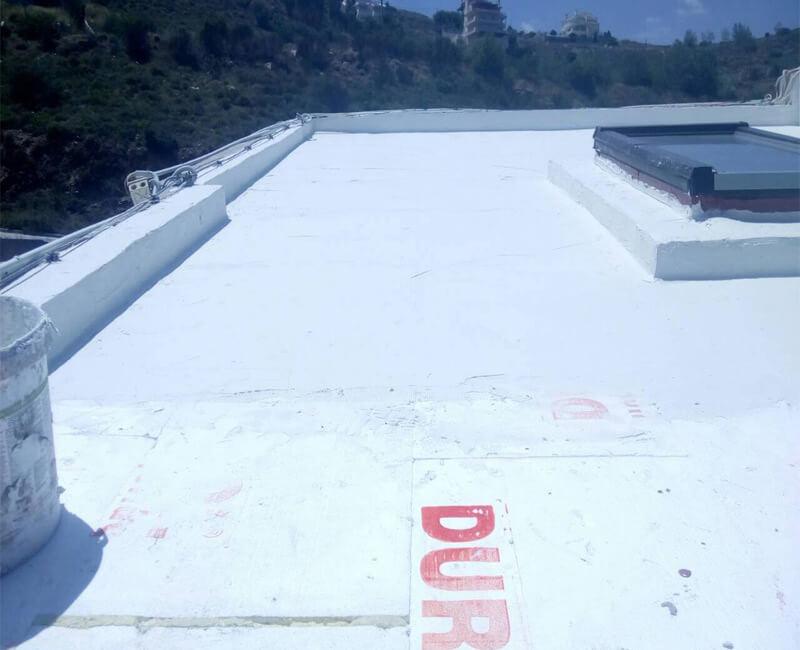 Εφαρμογή Durosol Light Roof σε κατοικία στο Ντράφι