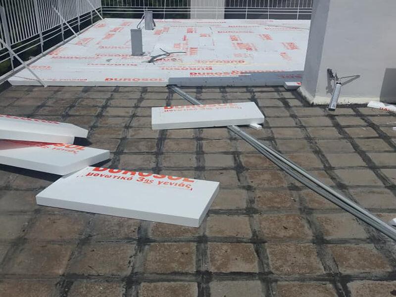 Durosol Light Roof μόνωση ταράτσας